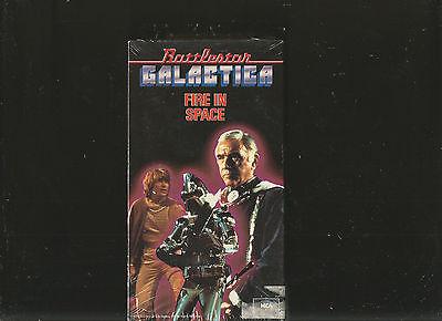 Battlestar Galactica - Fire in Space (VHS, 1996)-sale