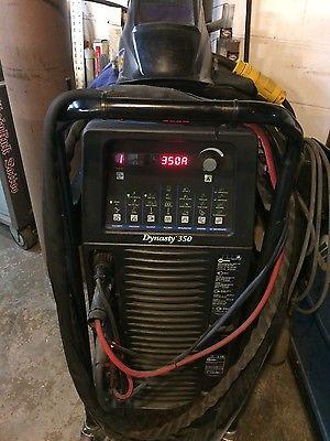 Miller Dynasty 350DX tig AC/DC welder