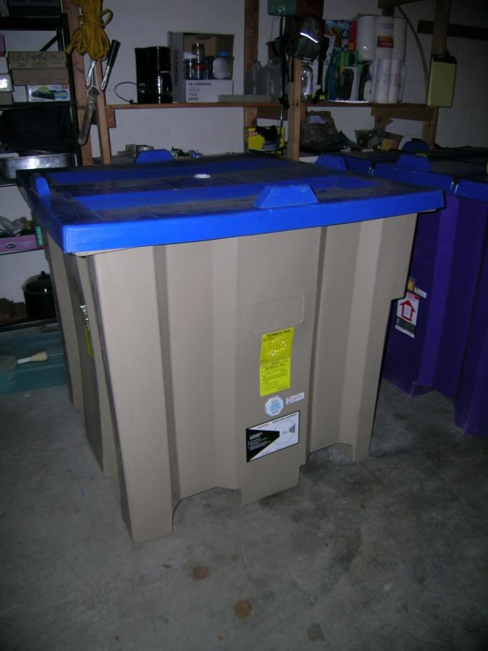 Rain water harvesting tank or shipping container - 1200 liters