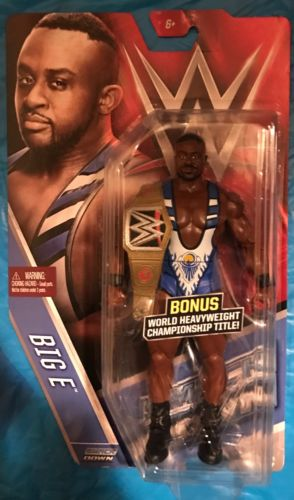 WWE Big E New Day Booty O's Chase Figure Elite Legends HOF Rare Includes Belt
