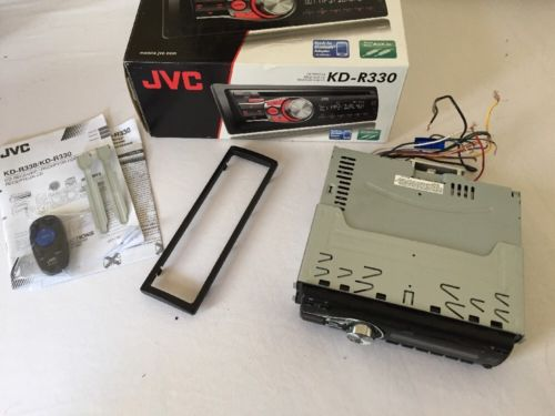 JVC KD-R330 CD Player/MP3 In Dash Receiver