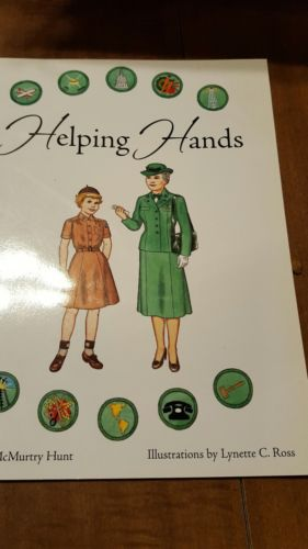 HELPING HANDS--History of the Girl Scouts Paper Doll Book, Volume 3 1942-1957