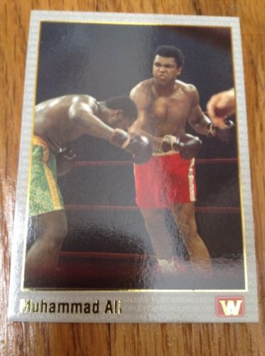 1991 AW Sports Boxing #69 MUHAMMAD ALI (Gold Stamped)