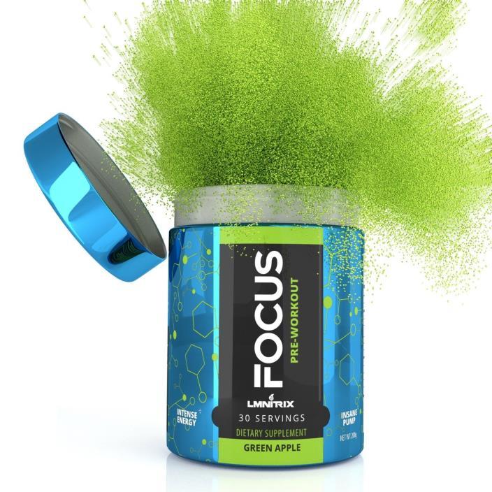 LMNITRIX Focus 30 serving Green Apple