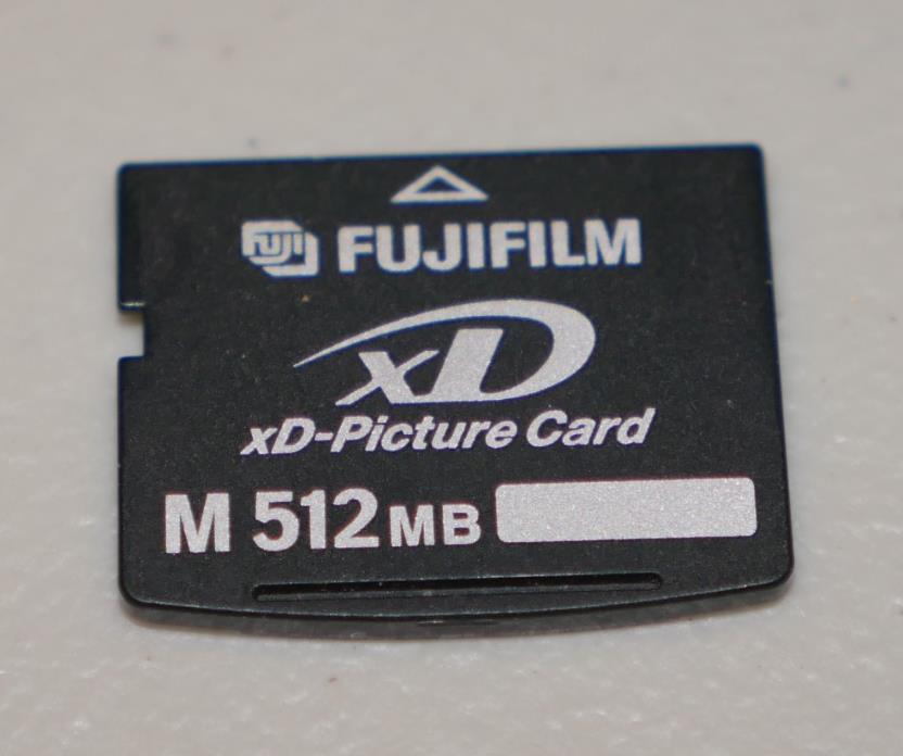 Fujifilm M 512 MB XD Memory Card for Olympus Fujifilm Digital Cameras *Good*