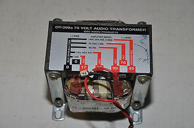 QSC OT-300a 70 Volt Audio Transformer