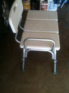 bench shower seat 20 dollars (edmond)