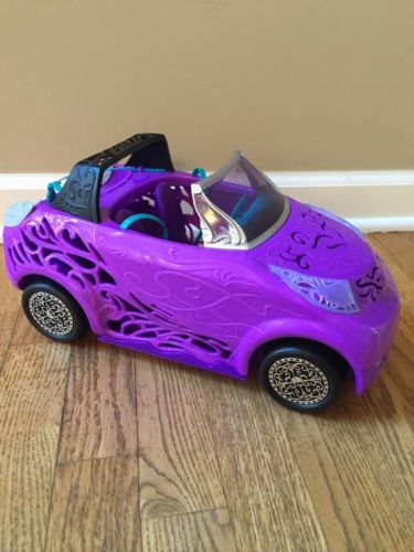 Mattel 2012 Monster High Scaris City Of Frights Convertible Car Purple