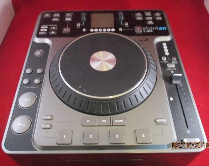 Stanton C.324 DJ MP3 CD Player/ Turntable!! (S13)