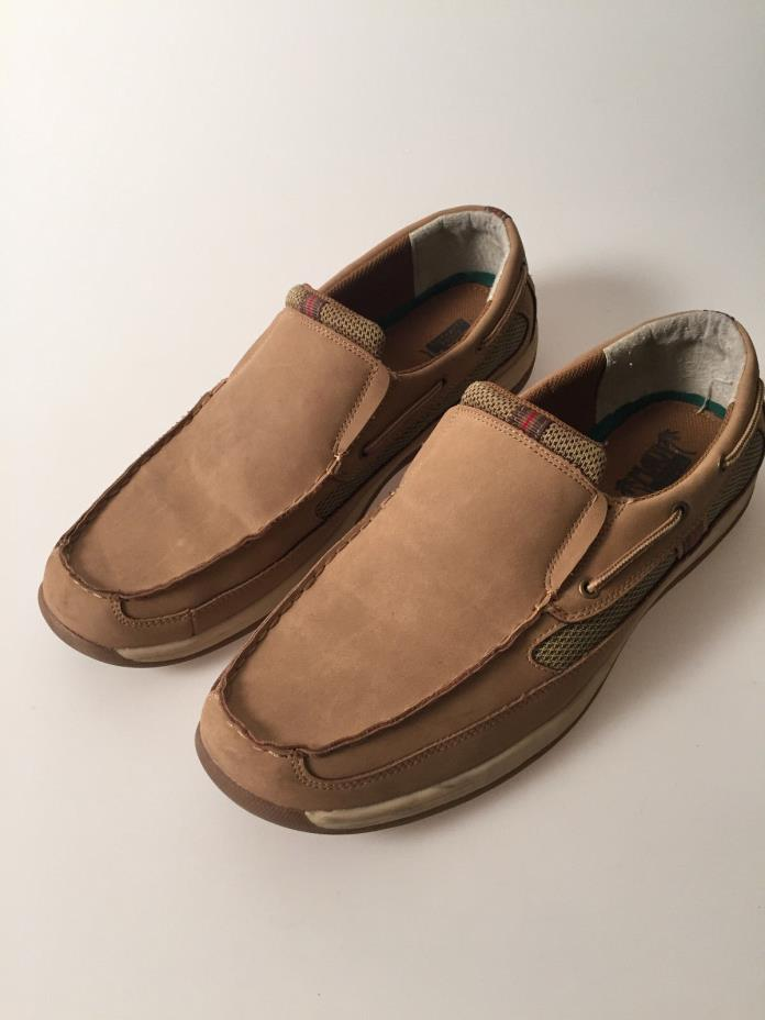 Men's Size 13 Maui Brown Slip-On Shoes