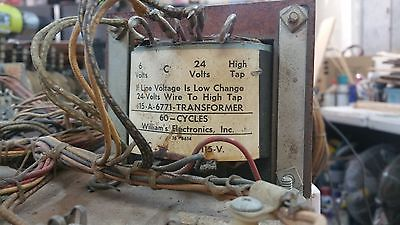 1967 Williams Jolly Roger transformer power supply