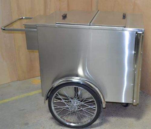 Worksman's Famous Ice Cream Pushcart V-IP