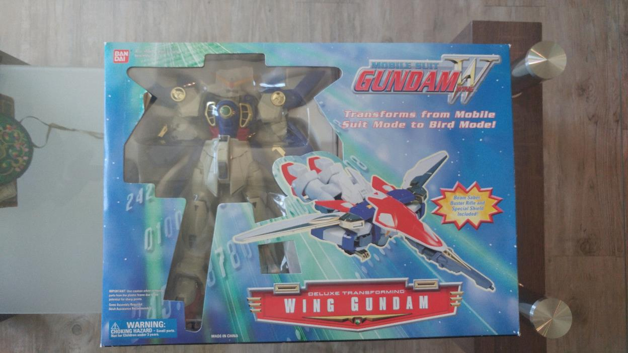 Bandai Wing Gundam Deluxe Transforming 12