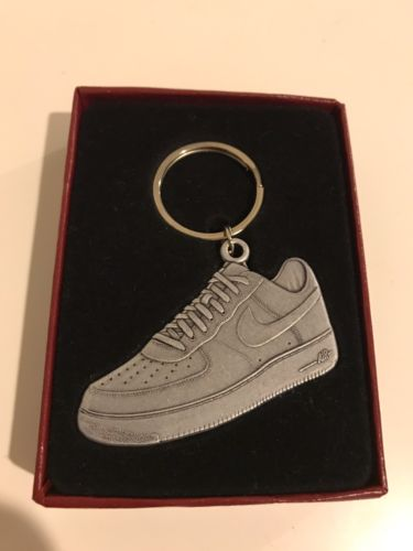 RARE Nike Air Force One AF1 2007 Collectors Keychain In Custom Box
