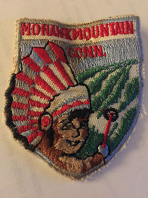 Vintage MOHAWK MOUNTAIN Ski Patch Cornwall CONNECTICUT CT Berkshires 1960s