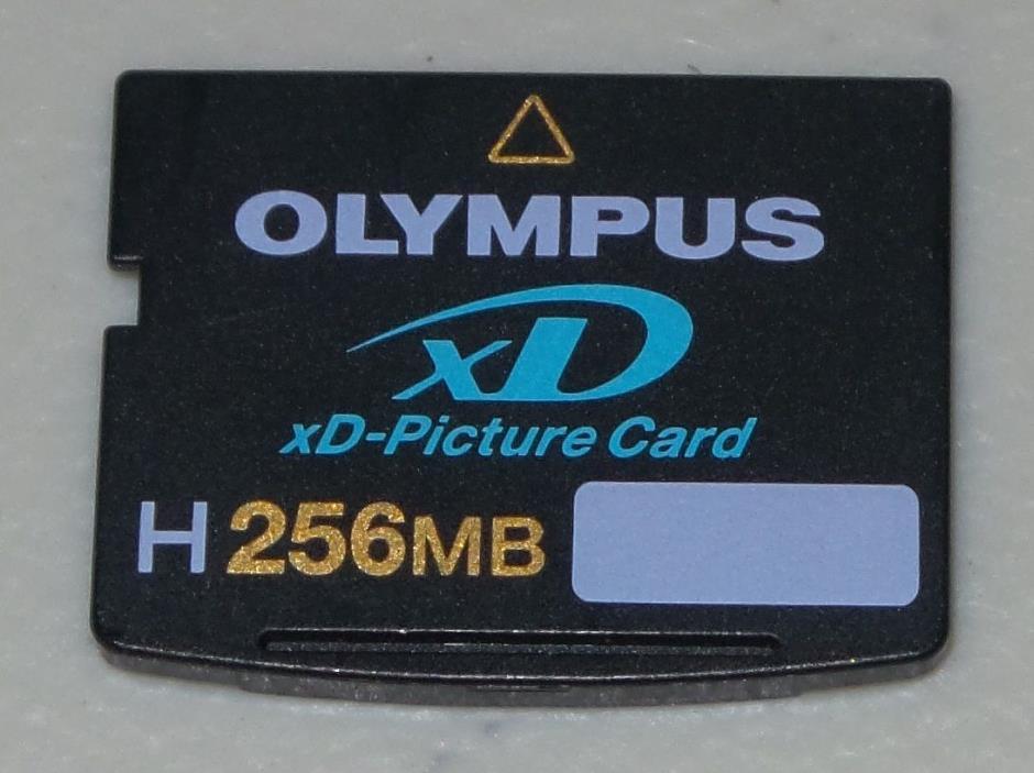 Olympus H 256 MB XD Memory Card for Olympus Fujifilm Digital Cameras *Good*