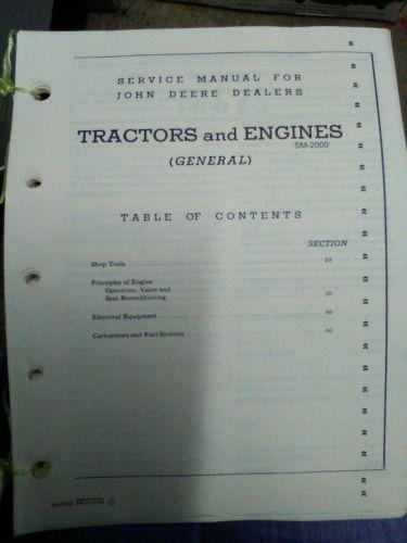 1949 John Deere Dealers Service Manual