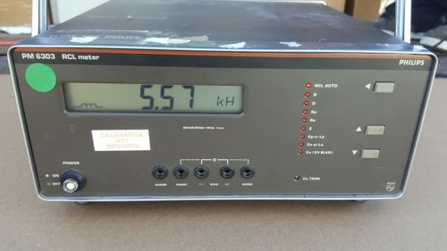 philips PM 6303 rcl meter