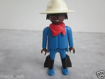 PLAYMOBIL Figure B456 Western Cowboy w/ Chaps Scarf & Hat