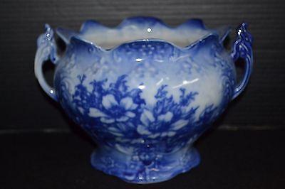Antique Flow Blue Tureen