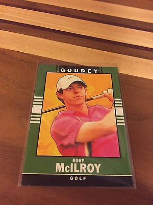 RORY MCILROY 2014 GOODWIN CHAMPIONS GOLF CARD #34 PGA TOUR NORTHERN IRELAND HOT!