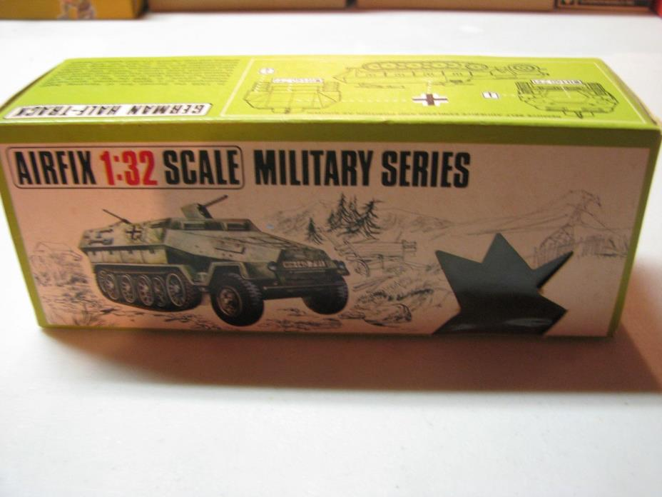 Airfix vintage 1971 WWII German 251/1 Half Track 1/32 in original box