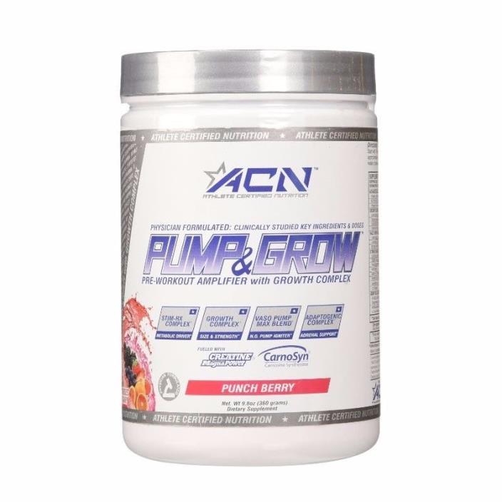 ACN Pump & Grow 40 servings Fruit Punch