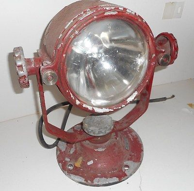 Vintage Mars Signal Light Fire Truck Light