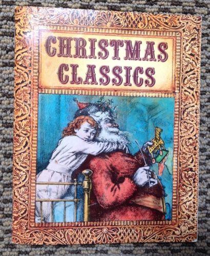 Vintage Christmas Classics Mini Hallmark Book 1974
