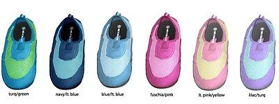 New  Wholesale Lot 72 Pairs Toddler Aqua Water Shoes Girls Boys