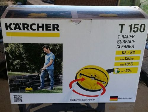 NEW Karcher T150 T-Racer Surface Deck Cleaner With Extension lance