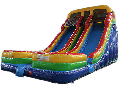 NEW 21ft High Double Lane Water Slide Bounce House Commercial Grade, Inflatable