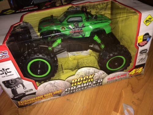 R/C Rock Crawler 1:12 Scale Radio Control 4x4 Wheel Drive Monster Truck Off #5QJ
