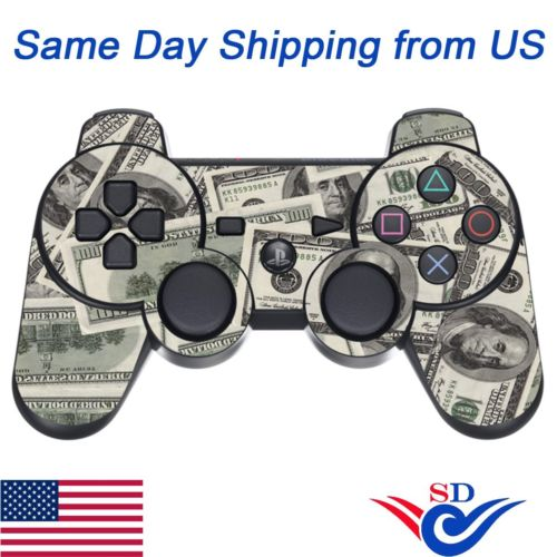 Decal Sticker Protective Skin for Sony PS3 Playstation 3 Controller Big Ballin