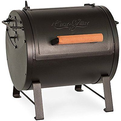 Char-Griller Kitchen Dining Features 2-2424 Table Top Charcoal Grill and Side