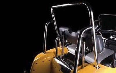 Club Car DS Golf Cart Mega Black Ornamental Roll Bars for '84-Up (A)