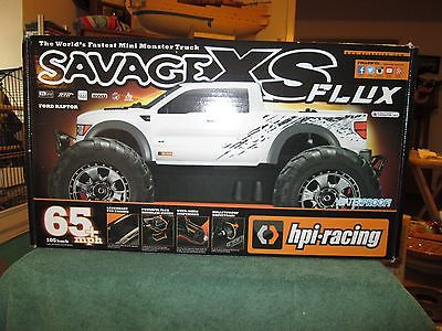 HP1 SAVAGE XS FLUX FORD RAPTOR REMOTE CONTROL TRUCK