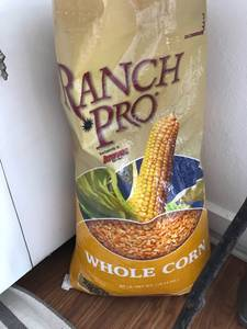 Free bag of corn feed (Stillwater)