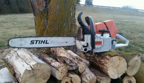 Stihl ms460 magnum chainsaw with bar and chain! Clean saw!Runs great! ms440 046