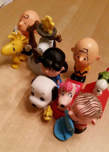 Peanuts Gang toy lot