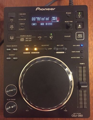 Pioneer CDJ-350 DJ Digital Multimedia Deck