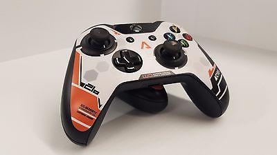TITANFALL Limited Edition Xbox One Controller Tribute SKINS (set of TWO)