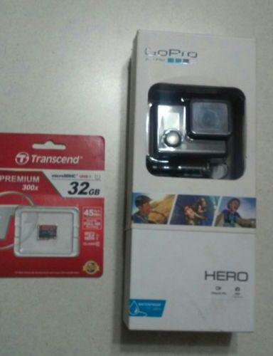 GoPro Hero Brand New. Package was opened but never used. 32gb sd card included