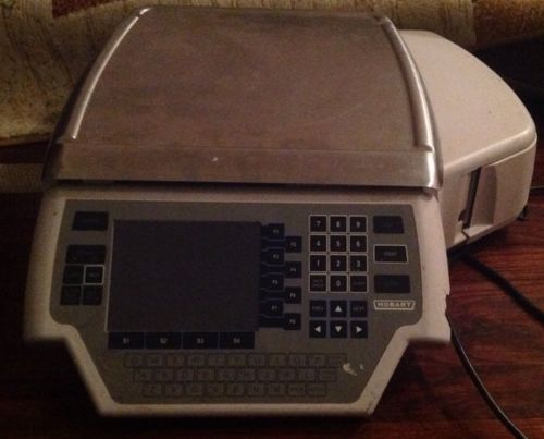 HOBART QUANTM1-1 30-LB LABEL PRINTING SCALE - WIDE LABELS, 115V Heavy Scale