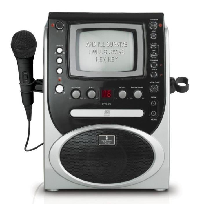 Singing Machine STVG-519 CDG Karaoke Player