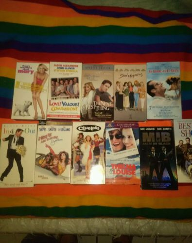 Lot of 11 VHS Movies Comedy/ Drama