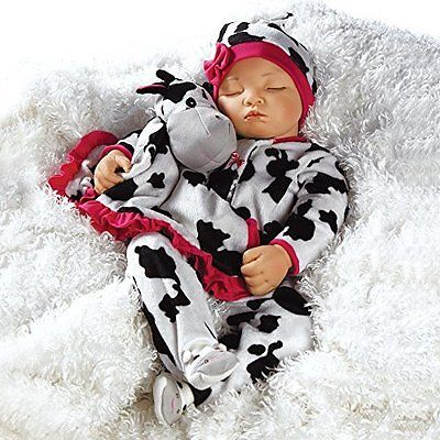 Paradise Galleries Doll Accessories Lifelike Realistic Newborn Baby Doll - Over