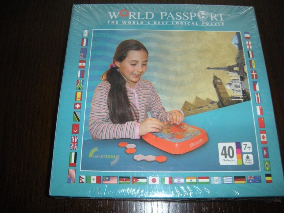 World Passport Puzzle by Smart Zone