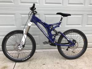 Downhill mountain bike (Sylvan park)
