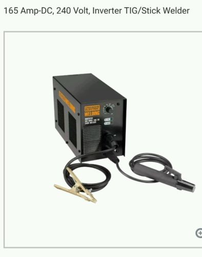 NEW Chicago Electric Welding Inverter TIG/Stick Welder 165 Amp-DC, 240 Volt